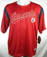 7d26b711c22 LOS ANGELES ANGELS RED AND WHITE BASEBALL JERSEY BY DYNASTY SZ XLG ...