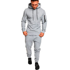 USA Mens Tracksuit Top Bottom Sport Jogging Sweat Suit Trousers Pant Hoodie Coat