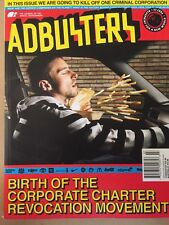 Adbusters Corporate Charter Revocation Mivement July/Aug 2014 FREE SHIPPING!