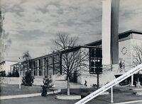Göppingen - Die neue Stadthalle - Mehrzweckhalle - um 1955 oder früher ?