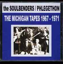 """THE MICHIGAN TAPES 1967-1971"" The SoulBenders / Phlegethon Garage / Prog LTD CD"