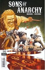 Sons of Anarchy TV Series Comic Book #14, Boom 2014 NEW UNREAD