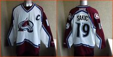 Colorado Avalanche NHL USA JERSEY HOCKEY CCM 2XL SHIRT RARE  # 19 Joe Sakic