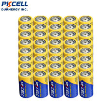 100pcs Size D R20P Carbon-zinc Battery Extra Heavy Duty PC1300 UM1 PKCELL 1.5V