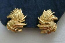 Wheat Sheaf Monet Earrings