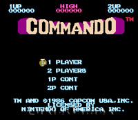 Commando - Fun NES Nintendo Game