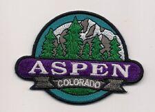 Aspen Colorado Souvenir Patch
