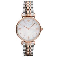 EMPORIO ARMANI Classic Watch Bicolor Damenuhr AR1683