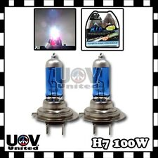 H7 5000K 100W White Light Gas Xenon Halogen High Beam Headlight Bulbs Lamps U3