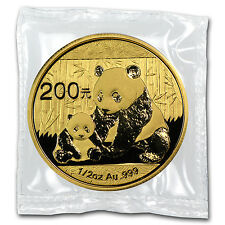 2012 1/2 oz Gold Chinese Panda Coin - Sealed in Plastic - SKU #65584