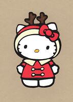 Hello Kitty Die Cuts - Christmas Reindeer Die Cut-multi sizes available.