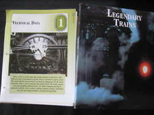 LEGENDARY TRAINS BOOK-CONTAINS 220 PHOTO PLATES OF TRAINS-VIEW