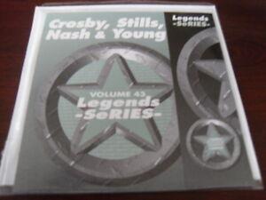 LEGENDS KARAOKE CD+G VOL 043 CROSBY STILLS NASH & YOUNG  NEW SALE