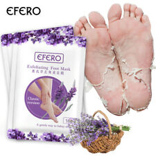 Efero Exfoliating Foot Mask Peeling Remove Dead Skin Feet Mask Pedicure Socks US