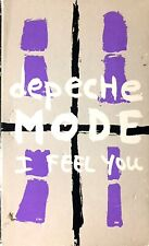 FRENCH EDITION CASSETTE SINGLE DEPECHE MODE I FEEL YOU / ONE CARESS VOGUE 1993