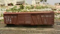Roundhouse MDC HO 50' OB Dbl Dr Automobile Boxcar, Texas & Pacific Upgraded, Ex