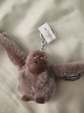 Kipling Monkey Ape Keyring, Brown. Nwt. Stuart