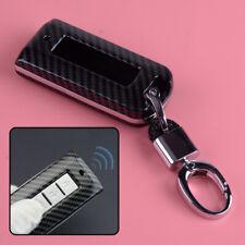 Carbon Fiber Key Fob Case Shell Cover Fit for Mitsubishi Outlander Cross Lancer
