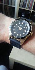 Bulova Watch Diver Gold black Rubber Strap