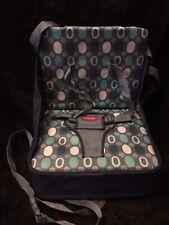 Nuby Easy Go Booster Seat Dark & Light Blue