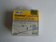 solar contour leadcore  25lb