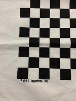 1982 VINTAGE DEADSTOCK NOS 1982 CHECKERBOARD Bandana VINTAGE NEVER USED!!