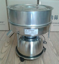 Vibrating Electric Screen Sieve Machine for Powder Particles Flour 110V 60 Mesh
