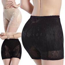Mujeres Body Shaper Alta Cintura Cadera Acolchado Potenciador Panty Brief Ropa Interior Shapewear
