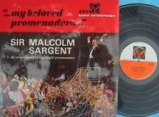 Sir Malcom Sargent ORIG UK LP My beloved promenaders NM BBC REC22M Speeches