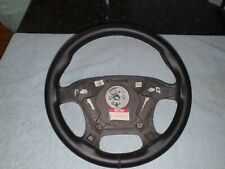 VT VX  leather steering wheel SS commodore  No Air Bag No Switches