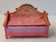 FISHER PRICE DOLLHOUSE DAYBED TWIN LOVING FAMILY GIRL GUEST BED NO CANOPY!