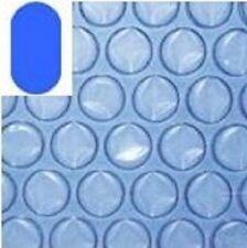 Solarfolie oval 6,00 x 3,20m, blau 400µm Poolabdeckung Pool Solarplane
