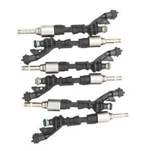 6pcs Fuel Injectors For Jaguar F-Type XJ XF 2013-2015 3.0L V6 FX23-9F593-AC