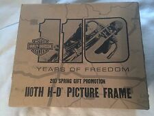Harley Davidson 110 Years Of Freedom Picture Frame
