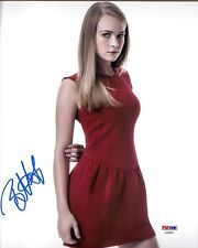 "BRITT ROBERTSON SIGNED 8X10 PHOTO #5 ""TOMORROWLAND, UNDER THE DOME"" PSA DNA"