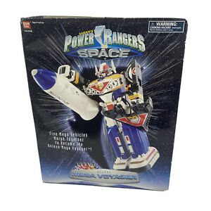 Power Rangers In Space Deluxe Mega Voyager In Original Box Complete Bandai 1996
