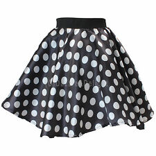 ROCK AND ROLL SKIRT POLKA DOT DRESS 50'S FANCY DRESS JIVE ROCK N ROLL GREASE