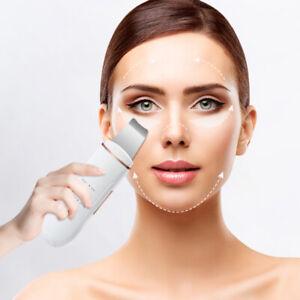 Facial Ultrasonic Skin Scrubber Spatula Face Deep Cleaning Vibrating Tools