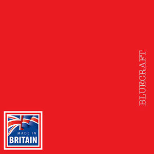 10 sheets x 12 inch Square Vanguard Red Craft Card 240gsm - 305 x 305mm