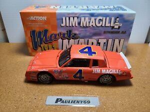 1983 Mark Martin #4 Jim Magill Chevrolet 1:24 NASCAR Action Die-Cast MIB