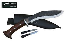 "Genuine Gurkha Knife-10"" Blade Black,(Rust Free) Panawal Gard khukri,knive GK&Co"