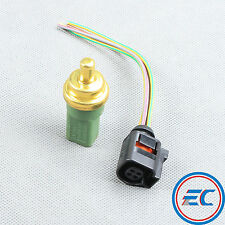 Coolant Water Temperature Sensor New & Plug For VW Jetta Bora Golf  Passat