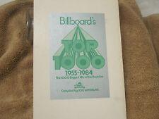 "VERY RARE Orig-""Billboard's Top 1000: 1955-1984""Joel Whitburn-Paper-NM-Like NEW!"