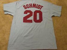Philadelphia Phillies Cooperstown Collection Mike Schmidt #20 Men's Size Large L