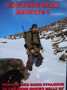 EDH 5 UK RED DEER STALKING HUNTING SCOTLAND DVD