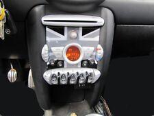 Consola Central Inserto Union Jack Negro Mini para Cooper R55 R56 R57 R58 R59