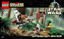 LEGO STAR WARS 7128 SPEEDER BIKES (RETIRED 1999) NEW SEALED LUKE SKYWALKER R2-D2