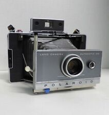 Vintage Polaroid Automatic 100 Land Camera + Case + Accessories