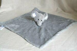 Moon And Stars Grey Elephant Comforter  Blankie TJM