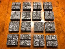 Dungeon Floor Modular Tile Set 28mm Dungeons & Dragons Pathfinder d&d Terrain
